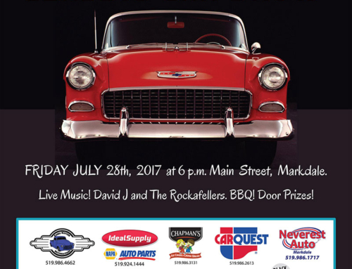 Markdale Cruise Night Classic Car Show