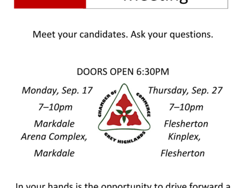 All Candidates Meetings!