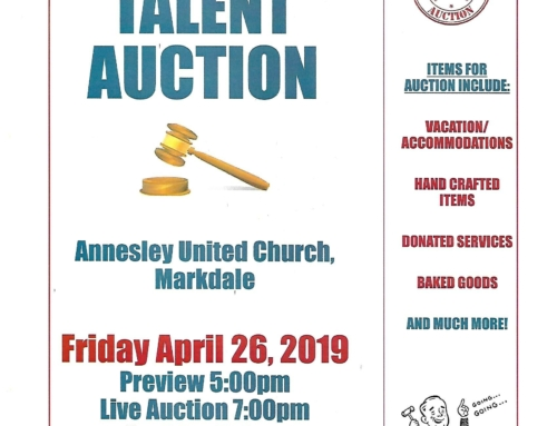 Talent Auction!!