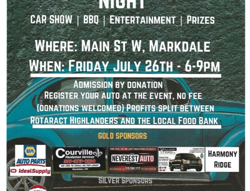 Markdale Cruise Night Car Show!