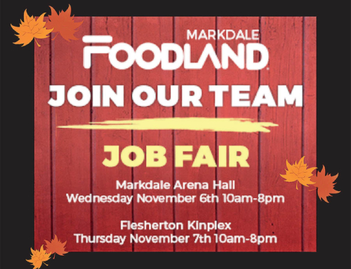 Markdale Foodland Job Fair!