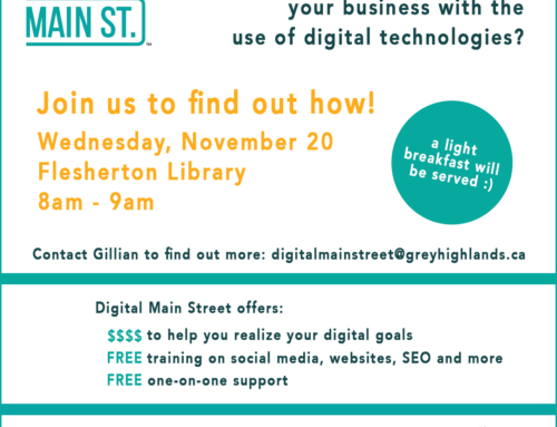 Digital Main St. Information Session