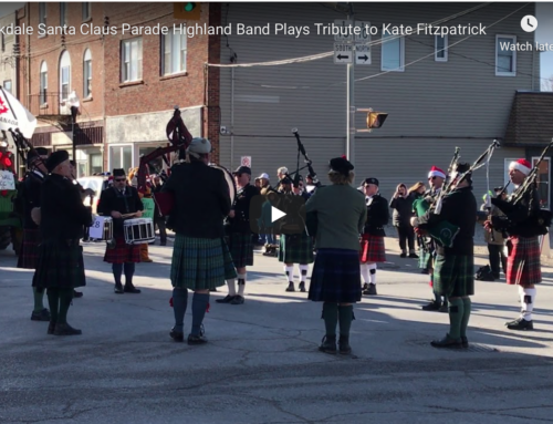 Tribute to Kate Fitzpatrick at Parade